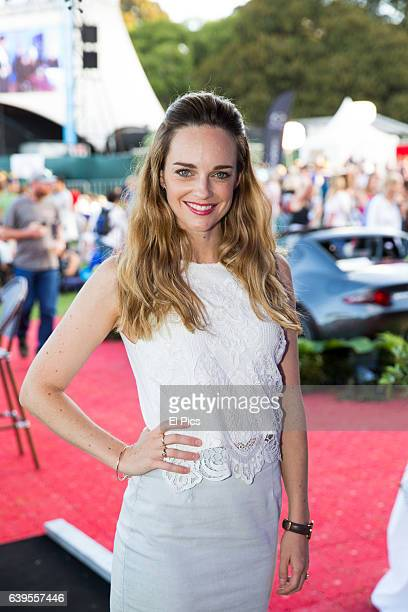 Penny McNamee at Opera In The Domain at The Domain on January 21 2017 in Sydney Australia