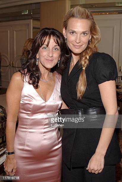 Penny Preville and Molly Sims during Diamond Information Center and In Style Magazine Host The 5th Annual Awards Season Diamond Fashion Show Red...