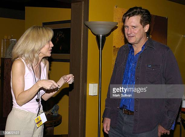 Penny Ronning HatcH ceo and Bill Pullman during HatcH Audiovisual Arts Festival Acting in Film and Television Students Only Film Panel at The Baxter...