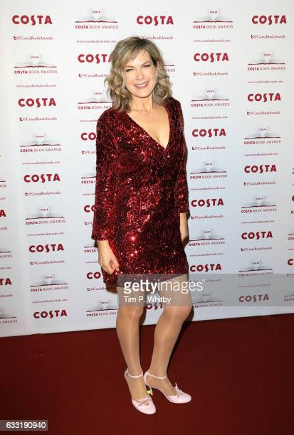 Penny Smith attends the Costa Book Of The Year Award 2016 at Quaglino's on January 31 2017 in London United Kingdom