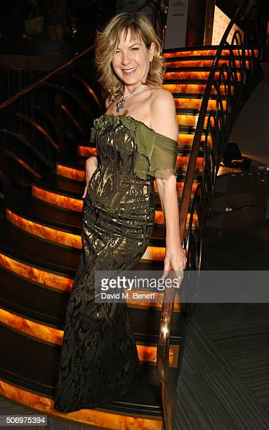Penny Smith attends the Costa Book Of The Year Awards at Quaglino's on January 26 2016 in London England