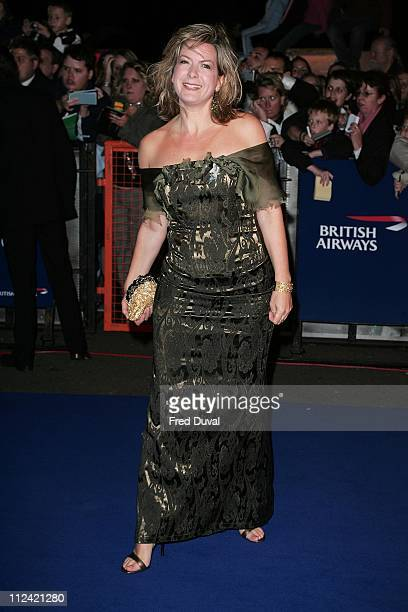 Penny Smith during National Television Awards 2005 at Royal Albert Hall London in London United Kingdom