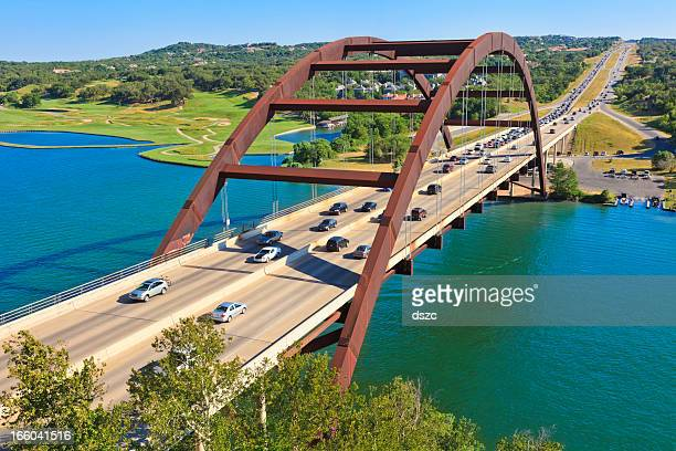 Pennybacker 360 bridge, à Austin, au Texas