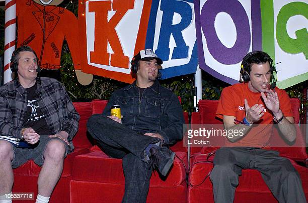 Pennywise during KROQ 1067 FM Almost Acoustic Christmas Day 1 Backstage at Universal Amphitheatre in Universal California United States