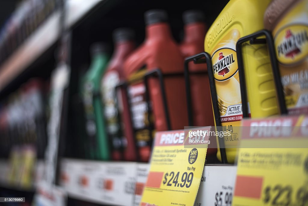 An autozone inc location ahead of earnings figures for How much is motor oil at autozone