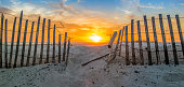Sunset at Pensacola Beach, FL.