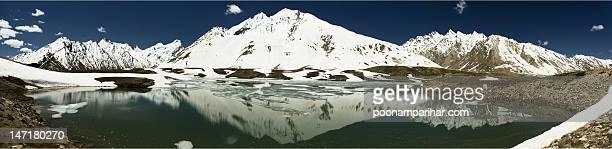 Pensi la mountian and Zanskar river