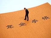 Pension Handbook and Miniature Man