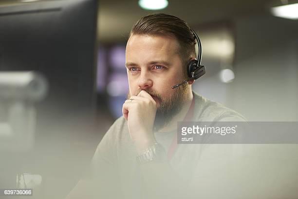 pensive call handler