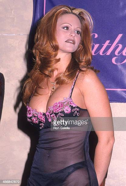 Penthouse Pet Gina LaMarca attends 'Penthouse Pets Bare Their Breasts to Fight Breast Cancer' Benefit for the Kathy Keeton Cancer Research Foundation...