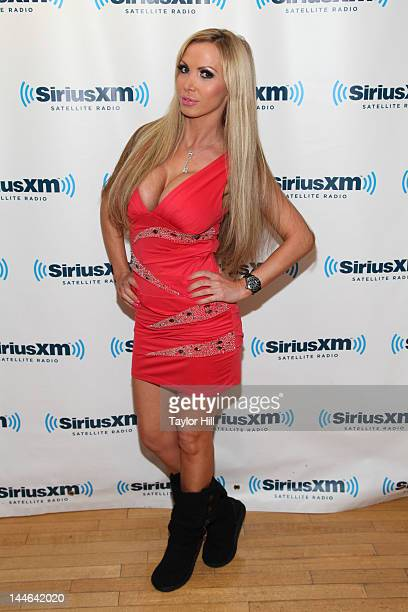 Penthouse Pet of the Year Nikki Benz visits SiriusXM Studios on May 16 2012 in New York City