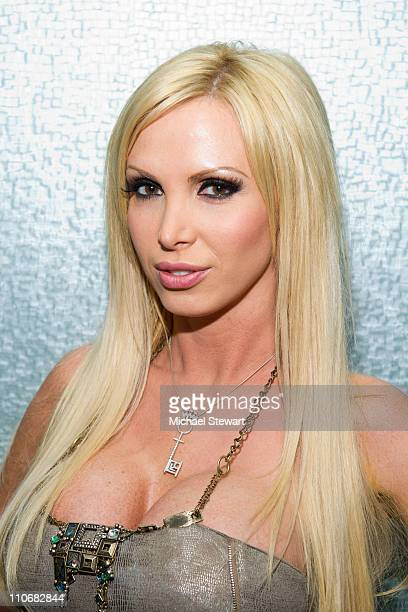 Penthouse Pet of the Year Nikki Benz visits 'Steppin' Out of the Tabloids' at Sapphire's Gentlemen Club on March 22 2011 in New York City