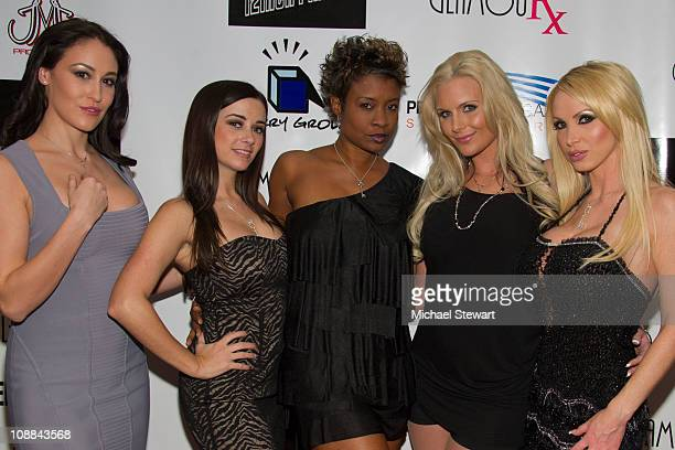 Penthouse Pet of the Year runnerup Ryan Keely Penthouse Pet of the Year 2010 Taylor Vixen hostess Lisa Berry Penthouse Pet Phoenix Marie and...