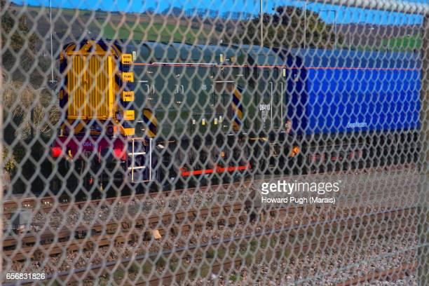 Penzance to Marazion - Coastal Foot Path Fence & Train
