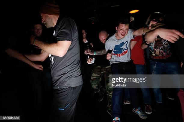 Hardcore concert
