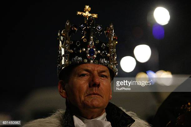 People are seen demonstrating in front of the presidential palace in Warsaw on 10 January 2017 On Wednesday 11 January Polish parliament will...