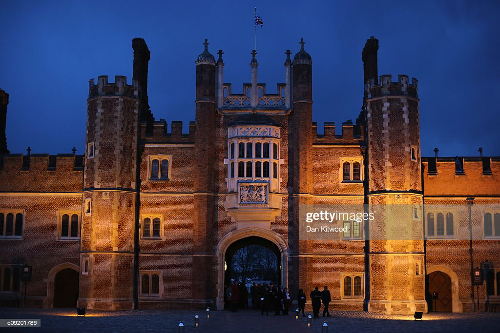 People arrive ahead of a service at the Hampton Court Palace Chapel on February 9, 2016 in London, England. This evening Henry VIII's Chapel at Hampton Court will host the first Catholic service to be held there in over 450 years. The service will be led by Archbishop of Westminster, Cardinal Vincent Nichols, the head of the Roman Catholic Church in England and Wales and attended by Bishop of London, Rt Revd Dr Richard Chartres who will deliver the sermon. Renowned ensemble The Sixteen will perform works from the Reformation period during the service. at Hampton Court Palace on February 9, 2016 in London, England. This evening Henry VIII's Chapel at Hampton Court will host the first Catholic service to be held there in over 450 years. The service will be led by Archbishop of Westminster, Cardinal Vincent Nichols, the head of the Roman Catholic Church in England and Wales and attended by Bishop of London, Rt Revd Dr Richard Chartres who will deliver the sermon. Renowned ensemble The Sixteen will perform works from the Reformation period during the service.