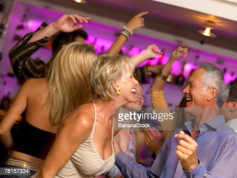 People at a nightclub : Stock Photo