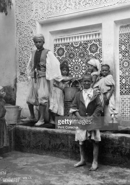 People at a well Casablanca Morocco c1920sc1930s