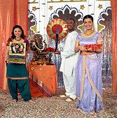 People at Ganesh festival