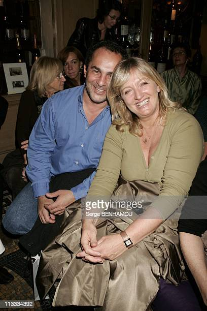 People At Nathalie Garcon Ready To Wear SpringSummer 2006 Fashion Show On October 10Th 2005 In Paris France Here Charlotte De Turckheim And Her...