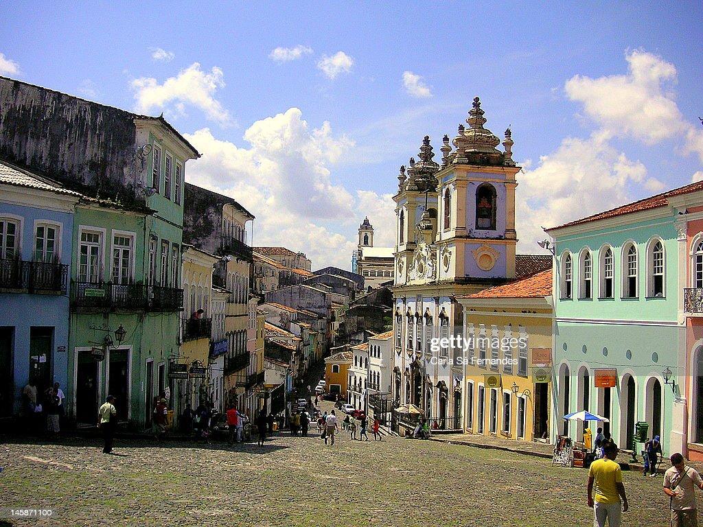 People at Pelourinho