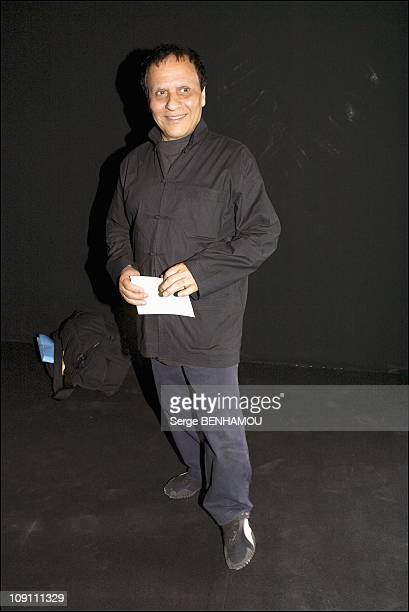 People At The Christian Dior FallWinter 20032004 Haute Couture Show On July 7 2003 In Paris France Azzedine Alaia