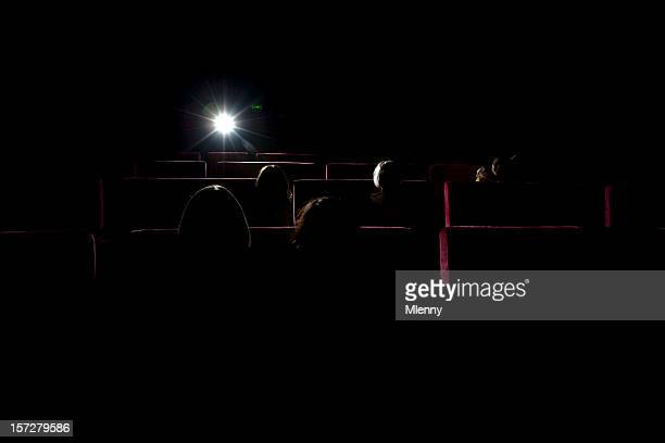 People at the Cinema Silhouettes