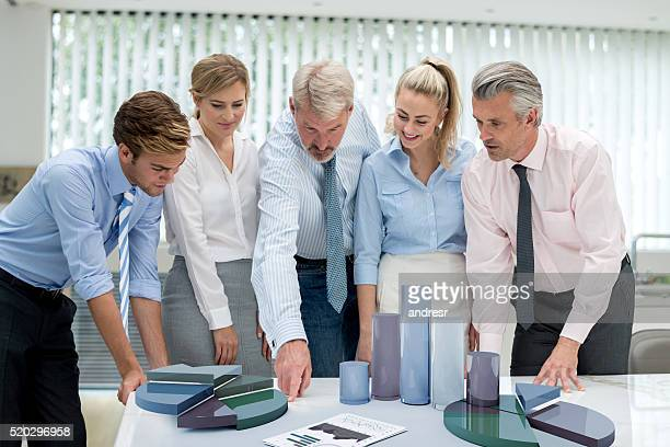 People at the office developing a business strategy