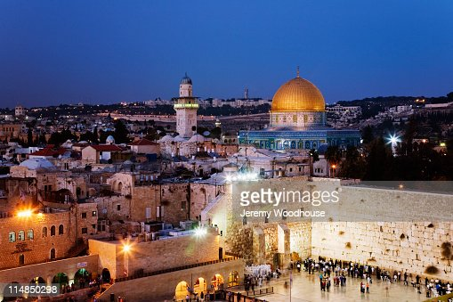 People at Western Wall