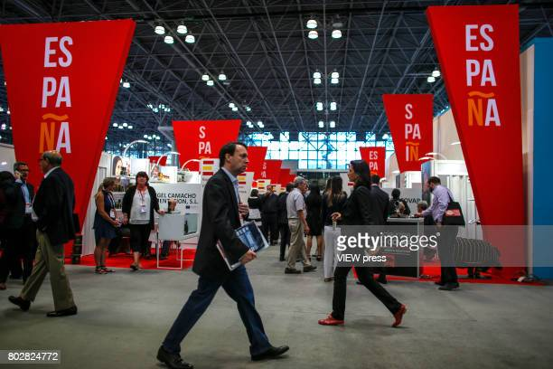 People attend the Annual Summer Fancy Food Show on June 262017 at the Javits Center in New York City
