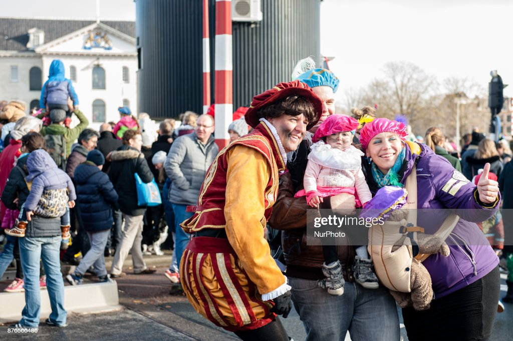 Grand arrival of St. Nicholas to Amsterdam