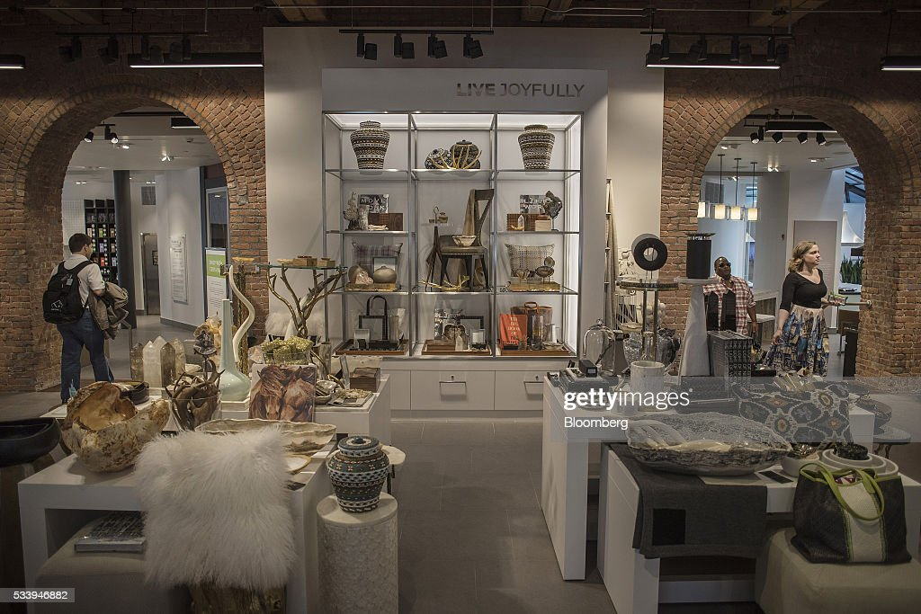 Inside the pirch home design store getty images for Home goods stores nyc