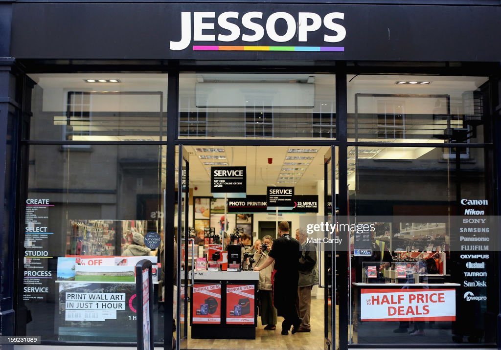 Photographic Retailers Jessops Goes Into Administration