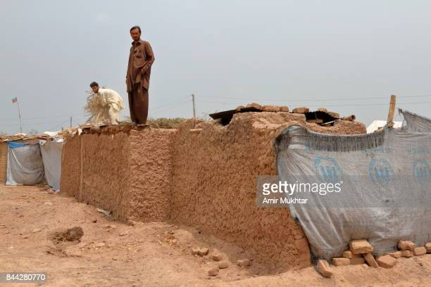 People Building Their Homes After Flood 2010 Pakistan