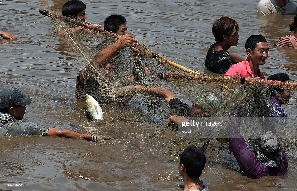 the 12th holy fish festival in menglian getty images