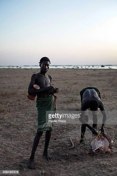 People caught fish from the Omo River as one water source for Gibe III Dam Gibe III Dam Africas Tallest Dam with installed capacity of 1870 MW which...