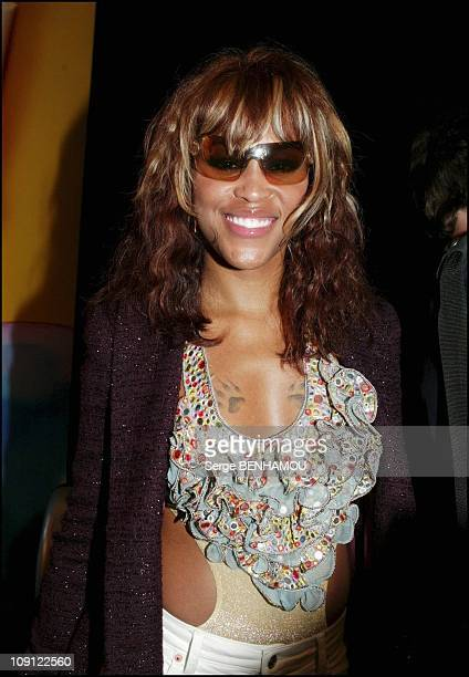 People Christian Dior Haute Couture Fashion Show Fall Winter 20042005 On July 6 2004 In Paris France Singer Eve