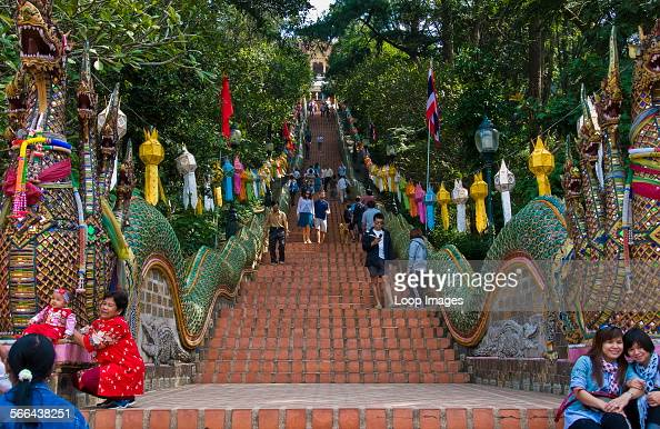 Wat Phrathat Doi Suthep Stock Photos and Pictures  Getty ...
