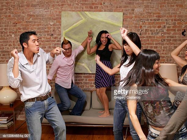 People dancing in house