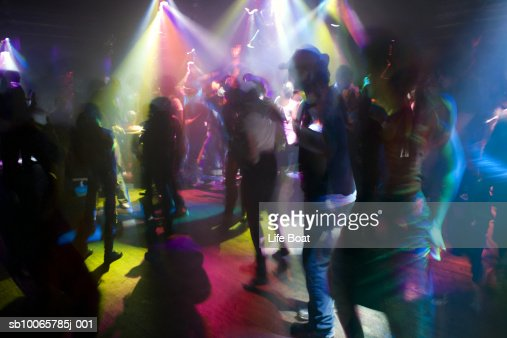 People dancing in night club : Stock Photo