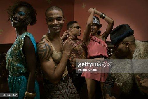 People dancing in nightclub : Stock Photo
