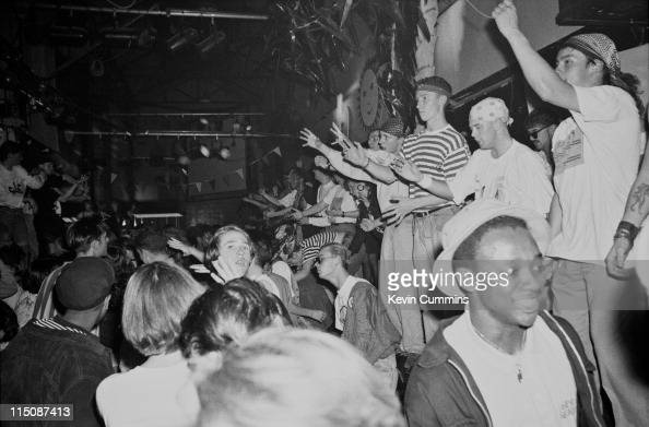 The hacienda pictures getty images for House music club