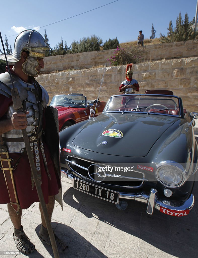 vintage car roman