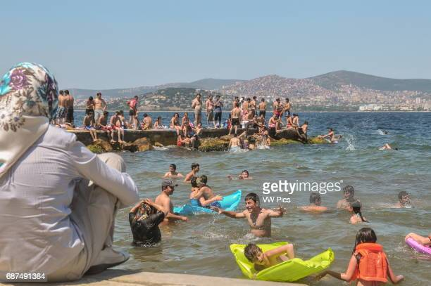 People enjoy a day out on BÙyÙkada island BÙyÙkada is one of the Prince Islands a small archipelago on the Sea of Marmara It is located a short boat...