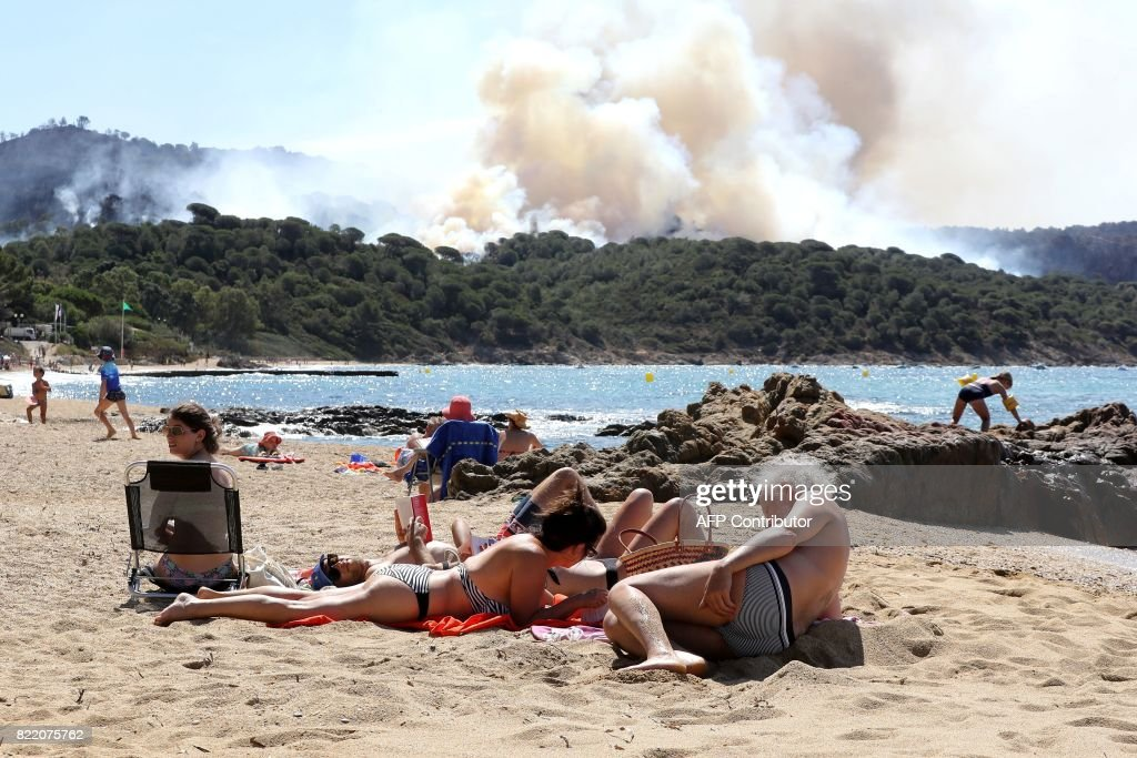Fires Continue on the French Riviera and Corsica