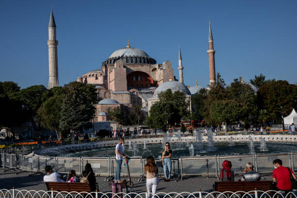 TUR: Preparations Continue Ahead Of  Hagia Sophia Mosque Conversion