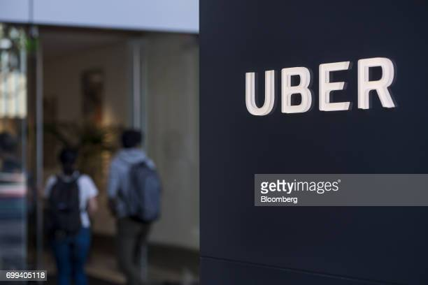 People enter the Uber Technologies Inc headquarters building in San Francisco California US on Wednesday June 21 2017 Travis Kalanick has resigned...