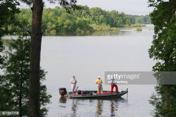 People fishing in the Chattahoochee River