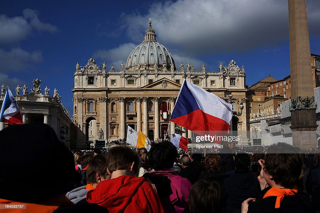 People from around the world attend the Inauguration Mass for Pope Francis in St Peter's Square on March 19, 2013 in Vatican City, Vatican. The mass is being held in front of an expected crowd of up to one million pilgrims and faithful who have filled the square and the surrounding streets to see the former Cardinal of Buenos Aires officially take up his role as pontiff.